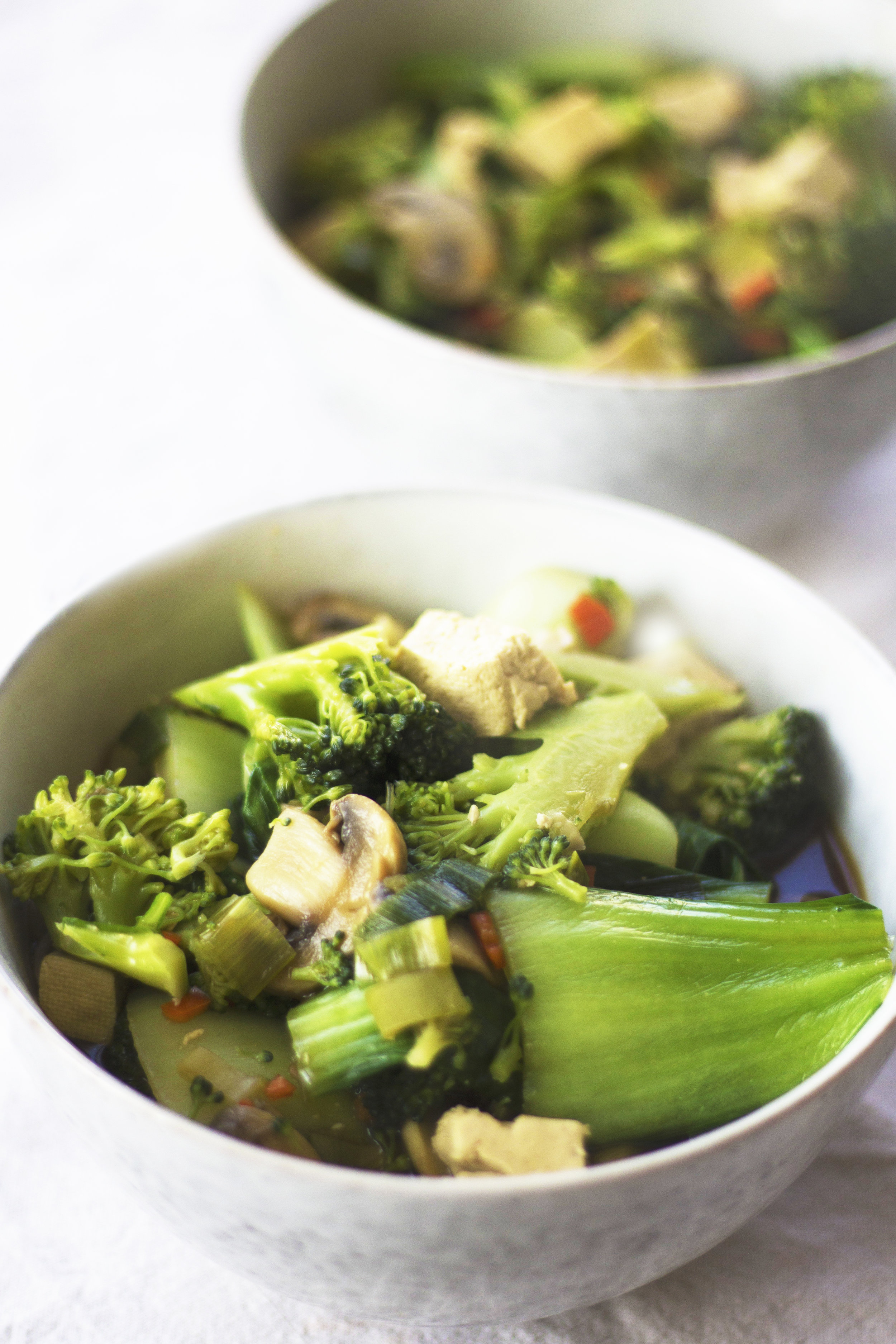 Lazy, vegan and full of veg. This miso soup is a perfect comforting and nourishing dish. - prep time5 mins total time15 mins serves 4