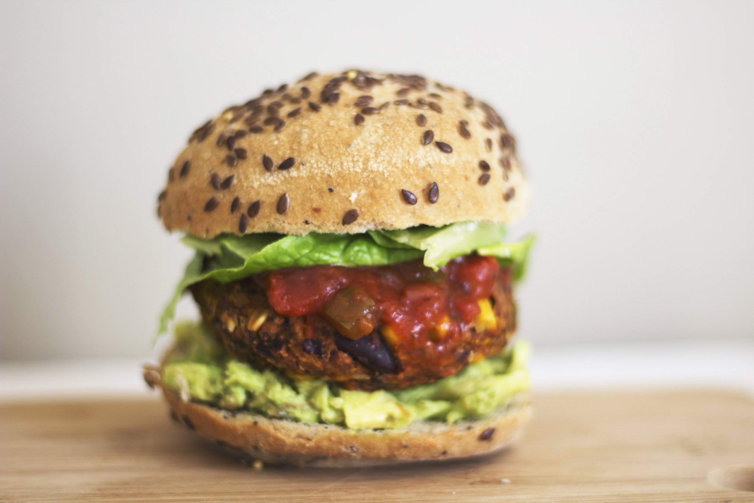 Full of flavour and protein, these bean burgers are easy to whip up in a rush. - prep time 5 mins     total time 20-40 mins     serves 5-6