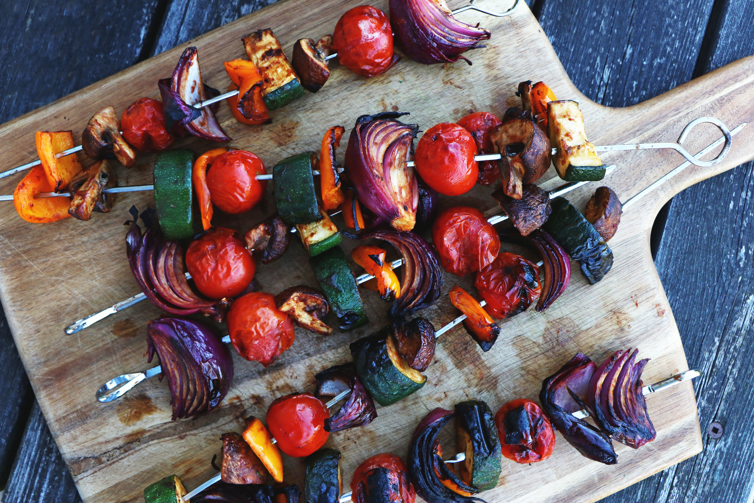 A simple staple for veggies with a BBQ flavoured twist. - prep time 1 hour 15    total time 1 hour 30     serves 6-8
