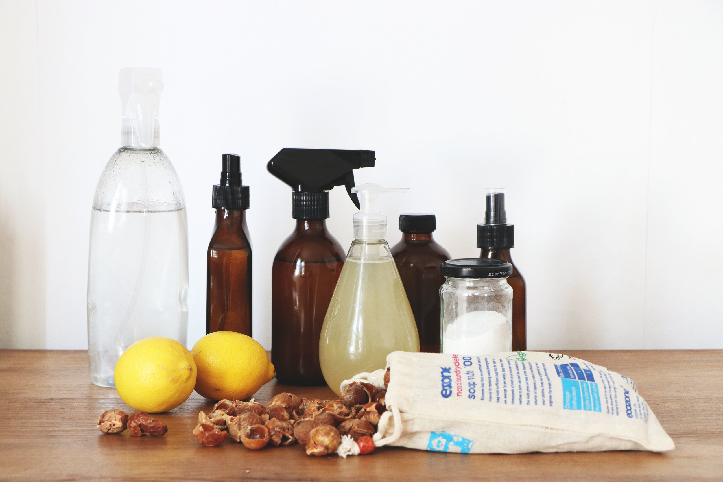 20 DIY NATURAL CLEANING RECIPES, TIPS