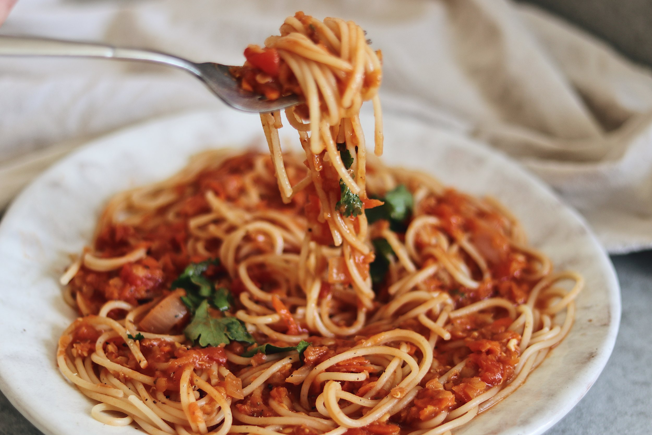 This wholesome and delicious ragu is the perfect easy meal to whip up for family and friends. - prep time 5-10 mins total time 1 hour serves 4-6