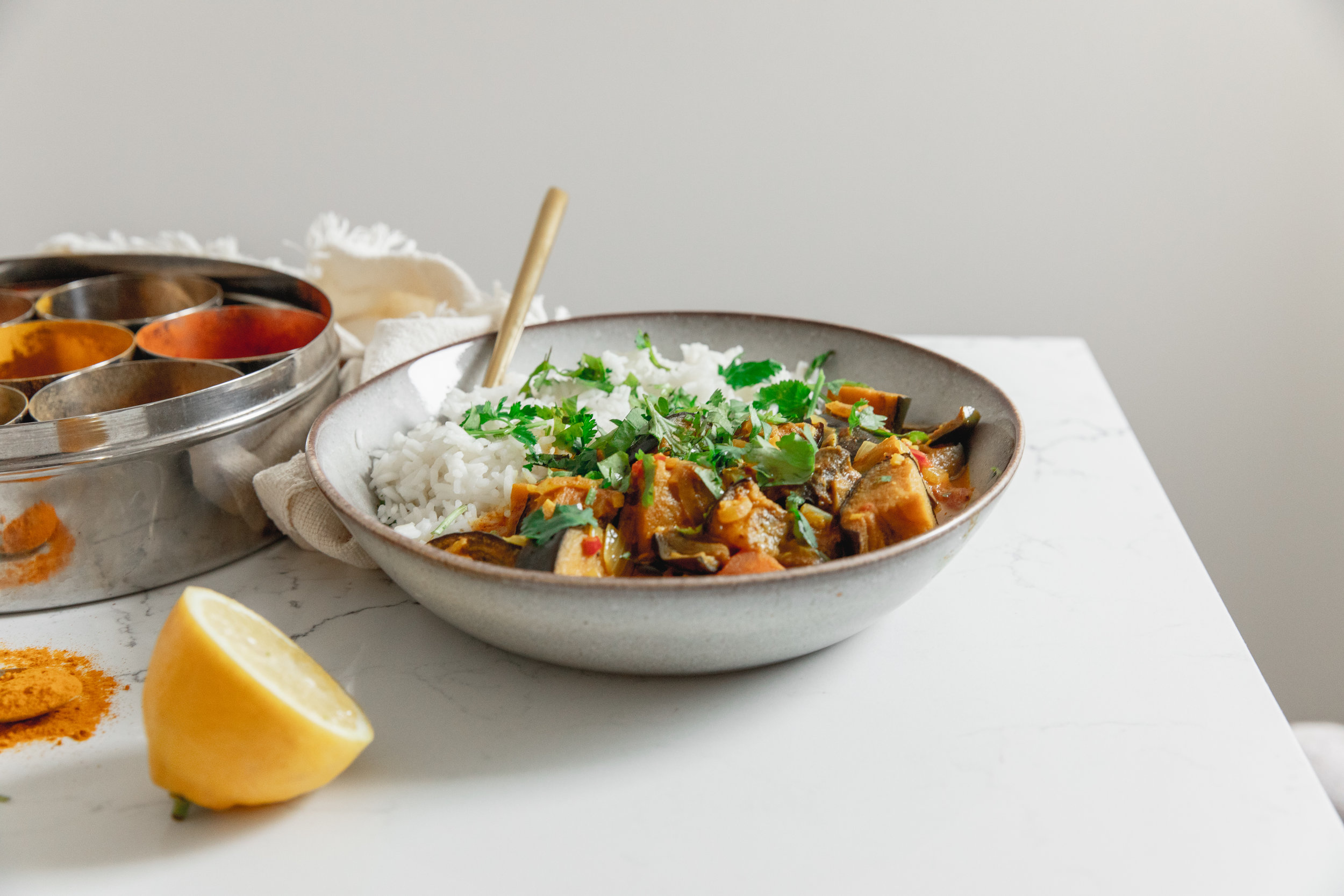 A deliciously warming and wholesome curry. - prep time 5 mins total time 50 mins serves 4