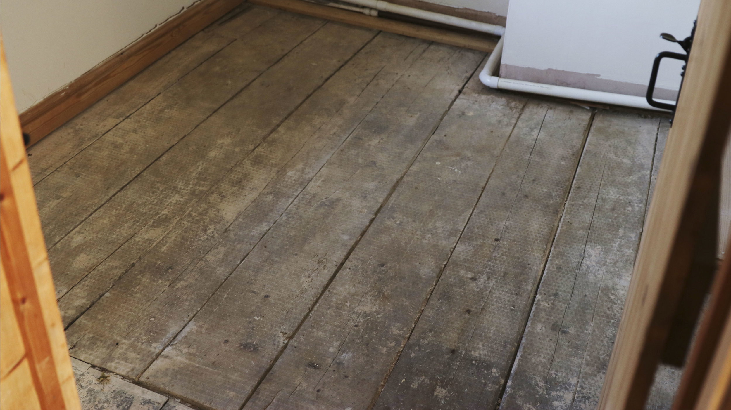 Floorboards that we sadly couldn't keep