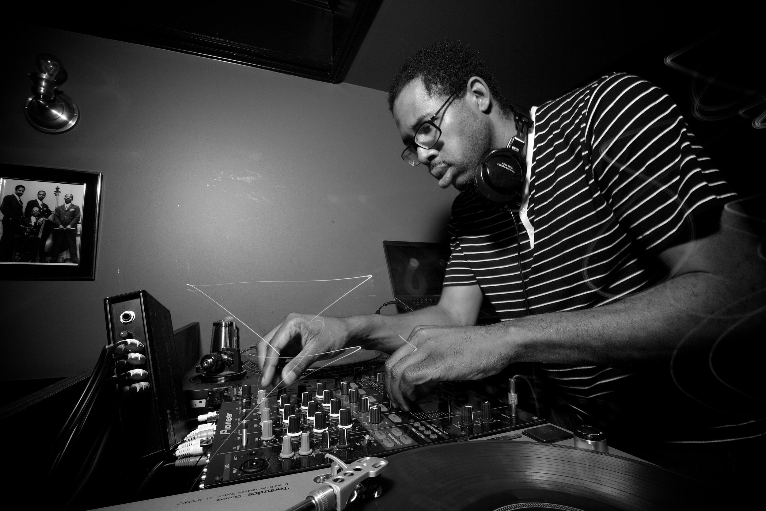 """- Here's a little story...A native of Washington, DC, Jahsonic has been moving crowds at his weekly Monday night party - The Main Ingredient at Marvin since 2007.Before that, he got his start playing neighborhood house parties at the age of 11. His first paying gigs were residencies at the Blue Room, JIN Lounge and as one of the founding On-Air hosts and mixologists on 89.3 WPFWs 'Decipher' hip-hop hour.He was also a national finalist in the 2011 Red Bull """"ThreeStyle"""" DJ competition in Las Vegas and recently played AfroPunk in Brooklyn.Jahsonic is also the creator and curator of the monthly """"Axel F"""" party, where he plays the finest in classic champagne soul, funk, disco and lazer boogie for appreciative crowds and of """"Behind The Line"""" where he pushes the boundaries of what's possible in music with a focus on timeless sounds."""