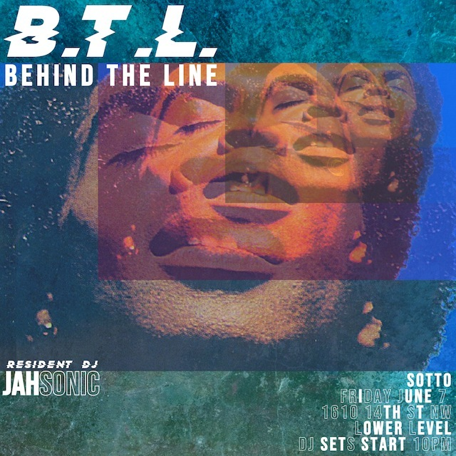 Tonight!, BTL will be all the flavors. Pull Up!  Friday, June 7 Sotto 1610 14th Street NW  Lower Level. Bands start at 8pm My takeoff is at 10pm No cover  #jahsonicdc #dcmillennials #thewavedc #dmvnightlife #dc30somethings #vibemusiccollective #dmvnightlife #dmvlive #socialalertsdc #blackweirdos #classicmaterial #rnbass #rnbassmusic #trap #futuresound
