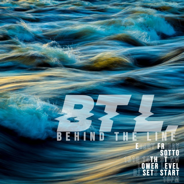 We always are on a wave at Behind the Line. Pull up! Friday, October 25  Sotto 1610 14th Street NW Lower Level. Bands start at 8pm My takeoff is at 10pm No cover  #jahsonicdc #dcmillennials #thewavedc #dmvnightlife #dc30somethings #vibemusiccollective #dmvnightlife #dmvlive #socialalertsdc #blackweirdos #classicmaterial #rnbass #rnbassmusic #trap #futuresound