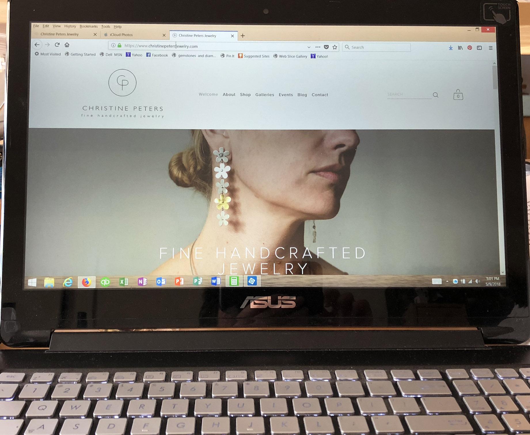 christine-peters-jewelry-website