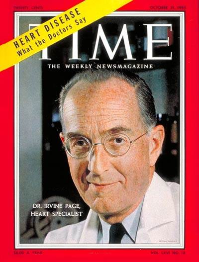 Dr. Page was really on the cover of TIME magazine (picture from TIME website, accessed on 10/28/2018)