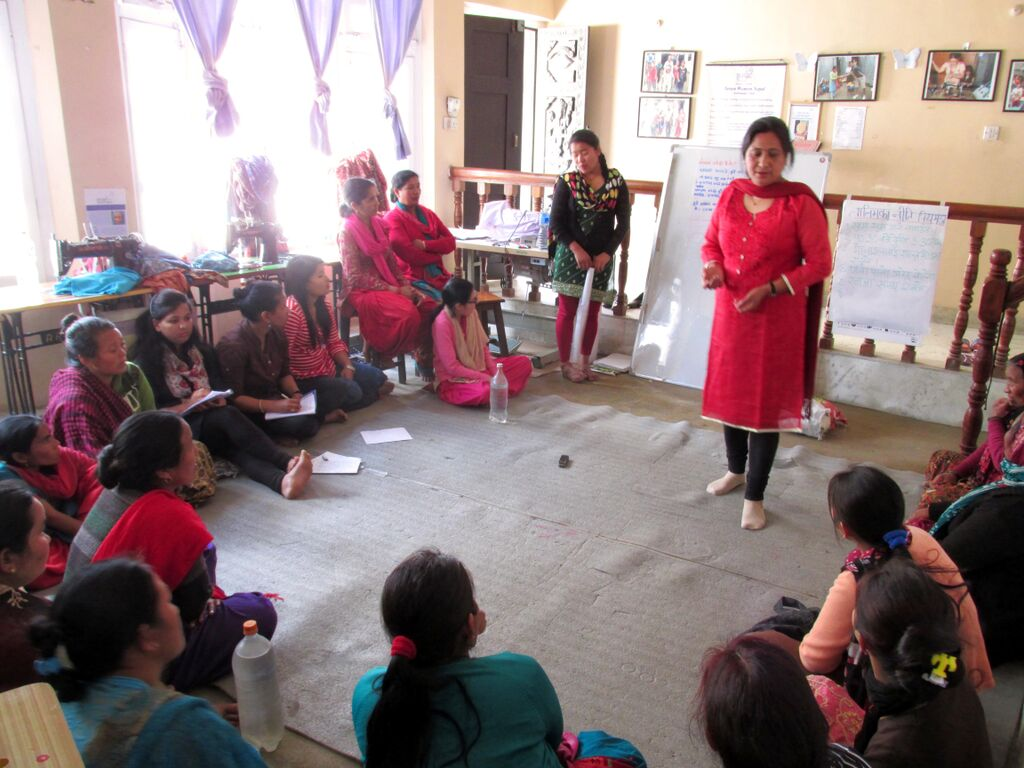 Gender awareness training is an important part of the education process. Kathmandu