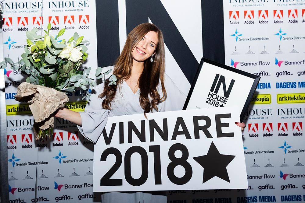 Emilia Eriksson är Årets Rookie