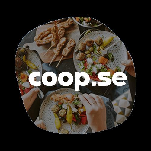 Om Coop Online - Coop Online har funnits sedan 2008 och är nätbutiken för Coop, en av Sveriges ledande kedjor inom dagligvaruhandeln. Målsättningen är att det ska vara snabbt och enkelt att handla via coop.se, sortimentet ska vara stort och upplevelsen inspirerande.