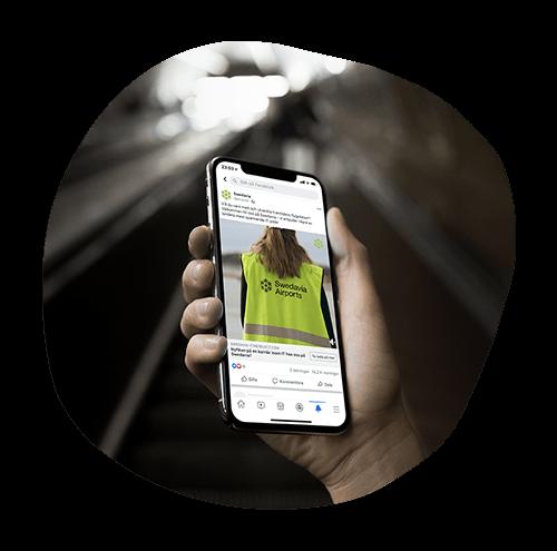 Vi annonserar & optimerar - Våra specialister inom strategisk kommunikation, digital marknadsföring och sociala medier-annonsering skapar konverteringsoptimerade kampanjer utifrån det inspirerande content som tagits fram av produktionsbolaget. Löpande annonsoptimering under hela kampanjperioden och A/B-test ingår för optimalt annonseringsresultat.