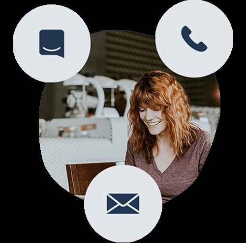 Få tillgång till vår otroliga Support - Talent Software är gjort för att vara så lätt att använda som bara möjligt - men om ni skulle ha några som helst frågor längs med vägen är det bara att vända er till vår support. Oavsett fråga, stor som liten, finns vår support till hands för att hjälpa er i vår Live-chatt, via mejl eller på telefon.
