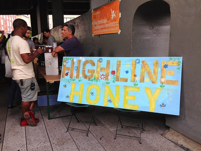 Highline honey from the folks at the New York Beekeepers Association.
