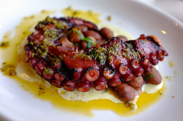 Grilled Octopus.  Photo by Premshree Pillai/Flickr.