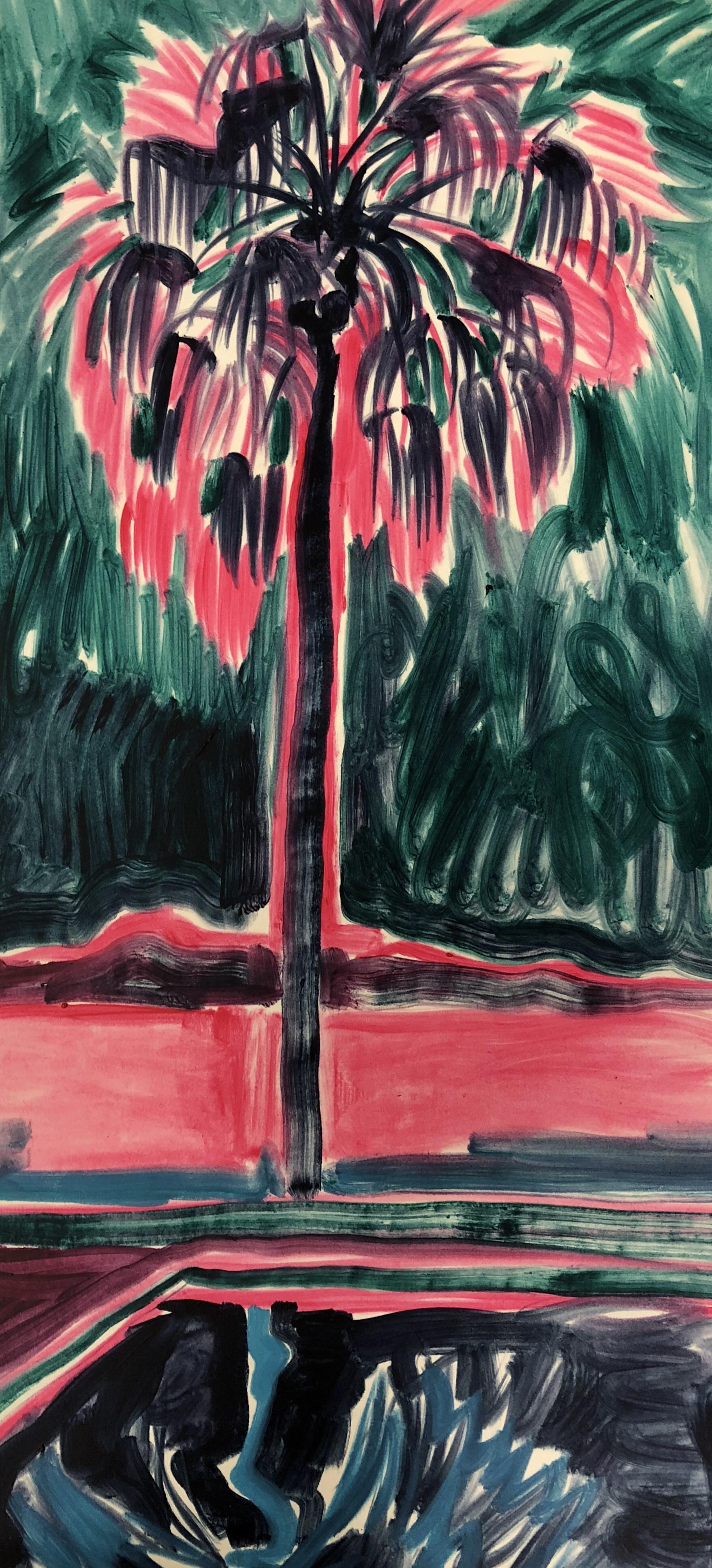 purple lands- palm composition- oil soaked paper- 70 x 30.jpg