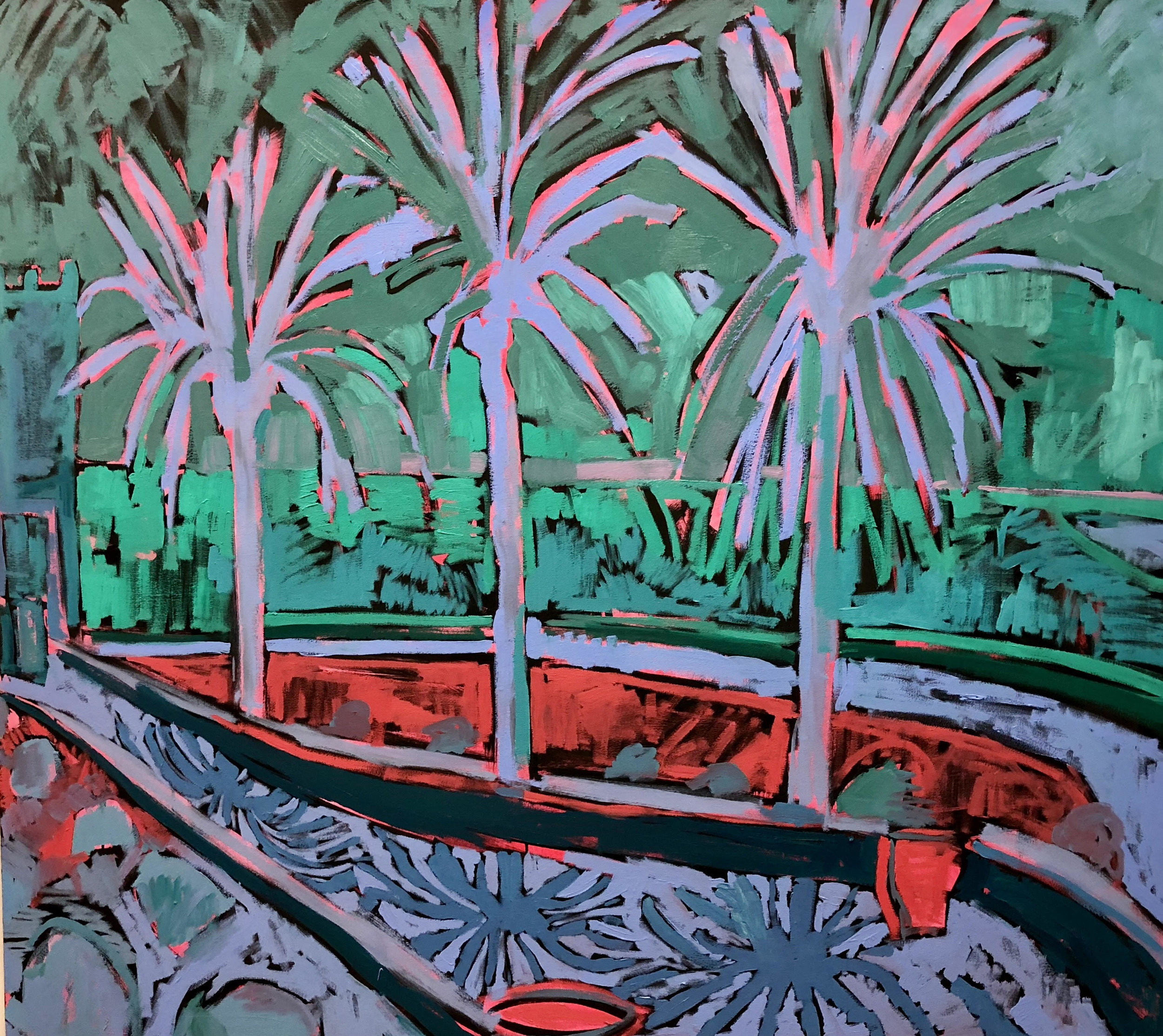 purple lands - three palm study- il on canvas- 152 x 122.jpg