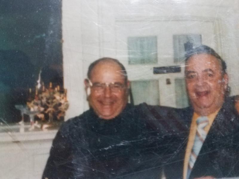 Fr. Sam and Dad