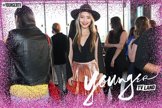 @YoungerTV season 6 premiere party the other night #YoungerTV