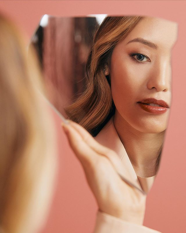 so excited to be partnering with @ArmaniBeauty for the launch of their Matte Nature collection, which features nude shades for every skin tone! I've been looking for the perfect neutral lipstick — and 524, this gorgeous dusty rose color, is definitely it. #ArmaniPartner #MatteNature