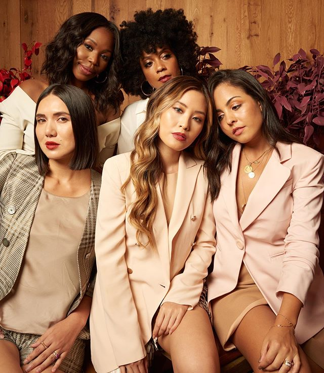 loved being in this @ArmaniBeauty shoot! we're all wearing different shades of lipstick from the new Matte Nature collection, and I love how these earth-inspired tones look flattering on everyone #ArmaniPartner #MatteNature