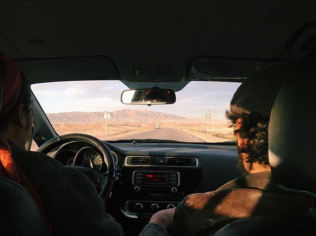 Desert road trip #travel #tunisia