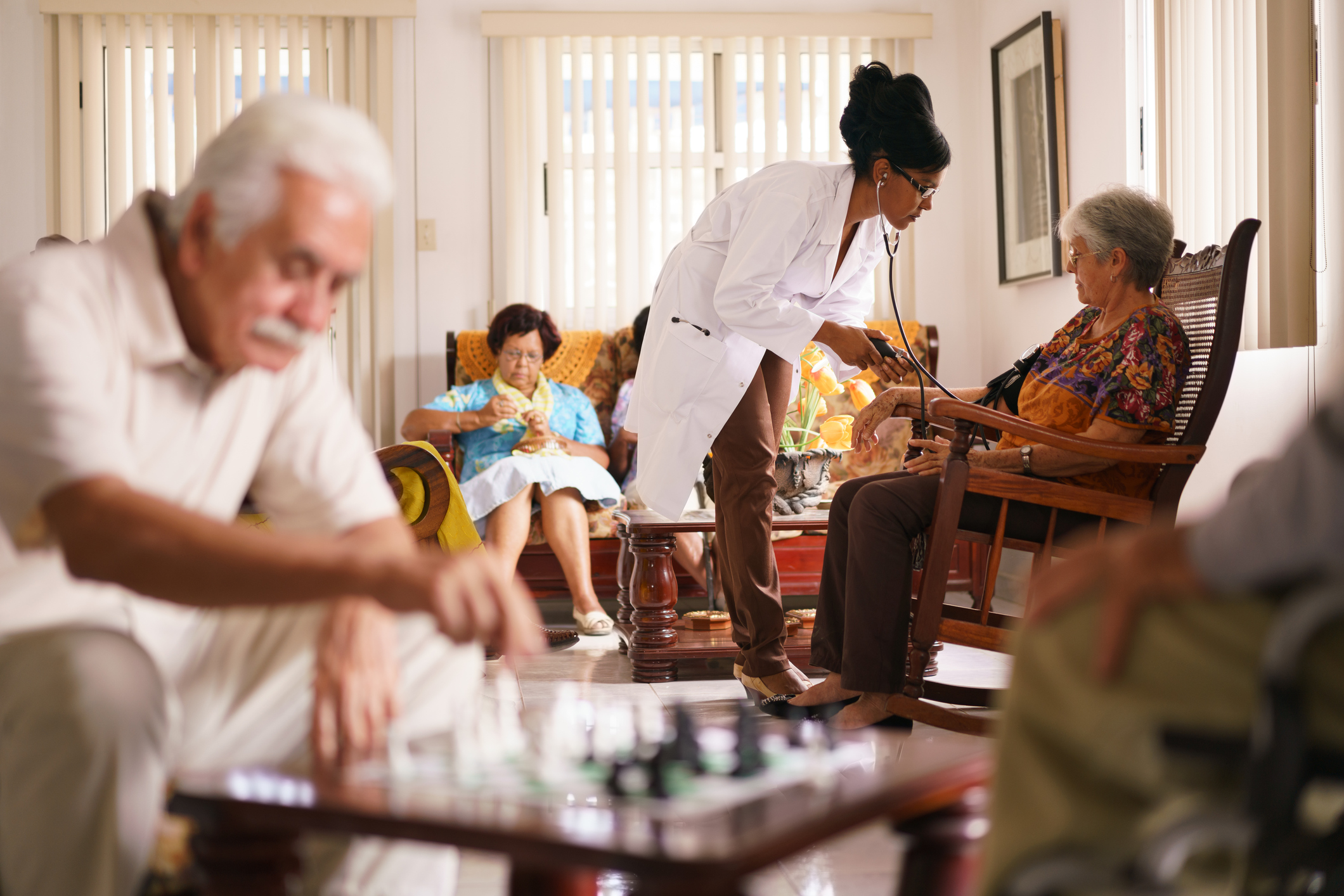 Our Practice - Our network clinicians specialize in gerontology and have a passion for delivering compassionate care .