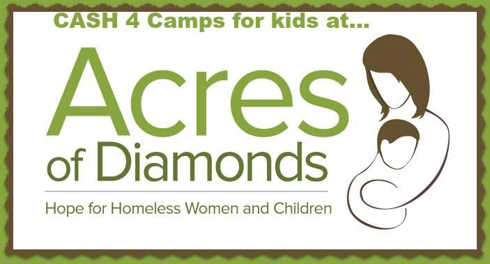 Duvall Acres Diamonds Homeless Women Children Camp Kids