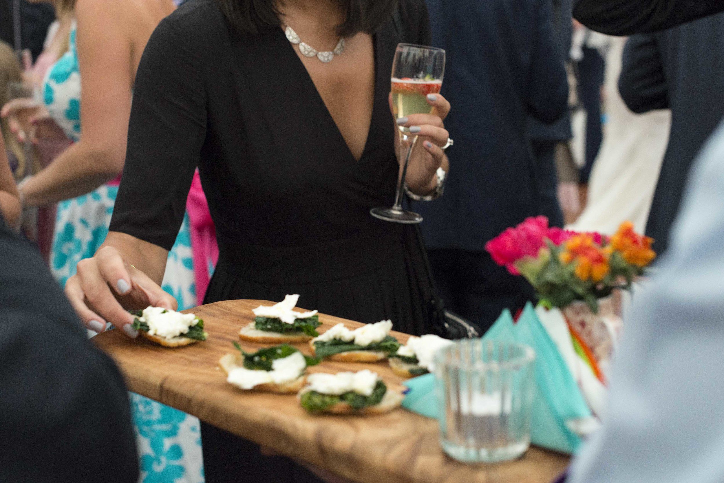 Wedding Hampshire Canapé Breakfast