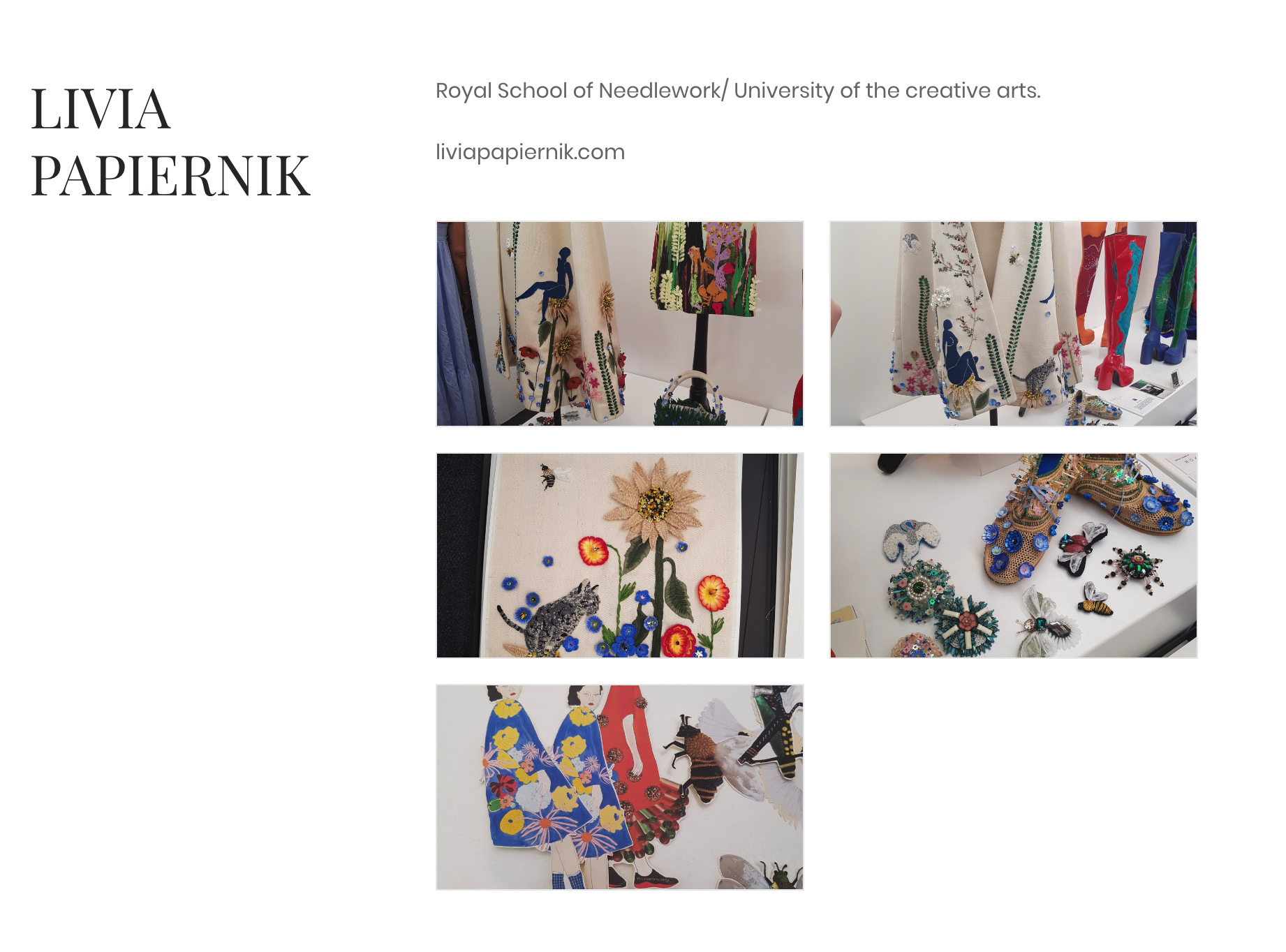 Featured by The Design Shrimp - Inspiring the new generation of fashion designers