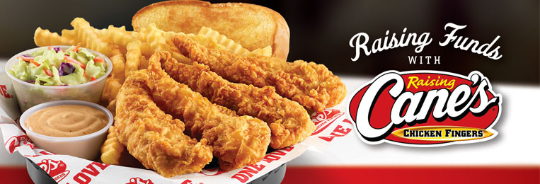 RAISING CANE'S SPIRIT NIGHTS:  It is time again to head to Raising Cane's South Carolina for Spirit Night! 15% of all sales will go back to our school. You can even go through the drive-through! ***Be sure to leave your receipt in the box - and ask other customers to do the same. The class with the most participation will win free lunch delivered to the school!
