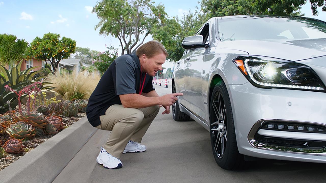 Jon Gruden for Bridgestone Tires