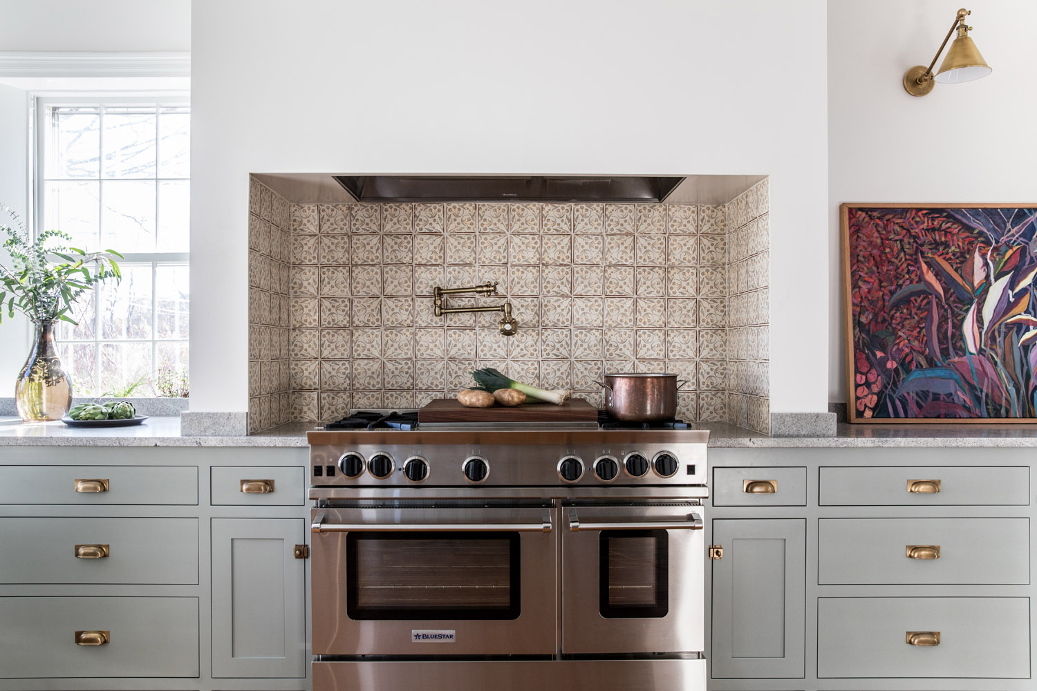 Design by Block Brothers Cabinets via  Rue Magazine