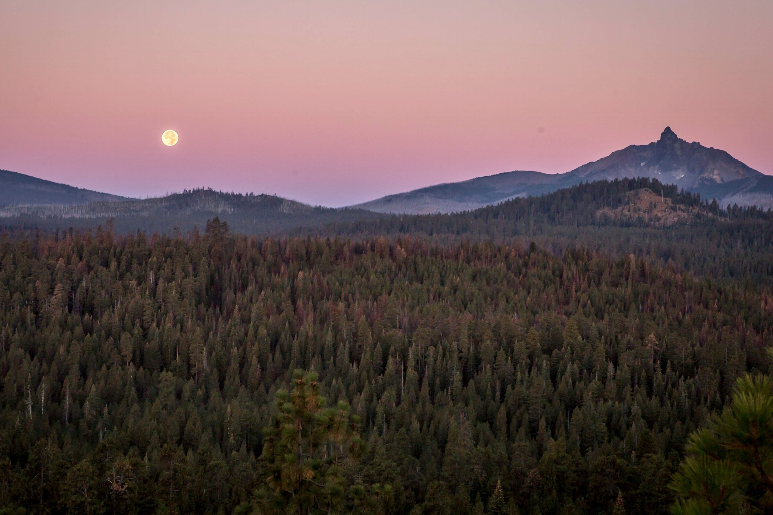 Harvest Moon - Bend Photo Tour