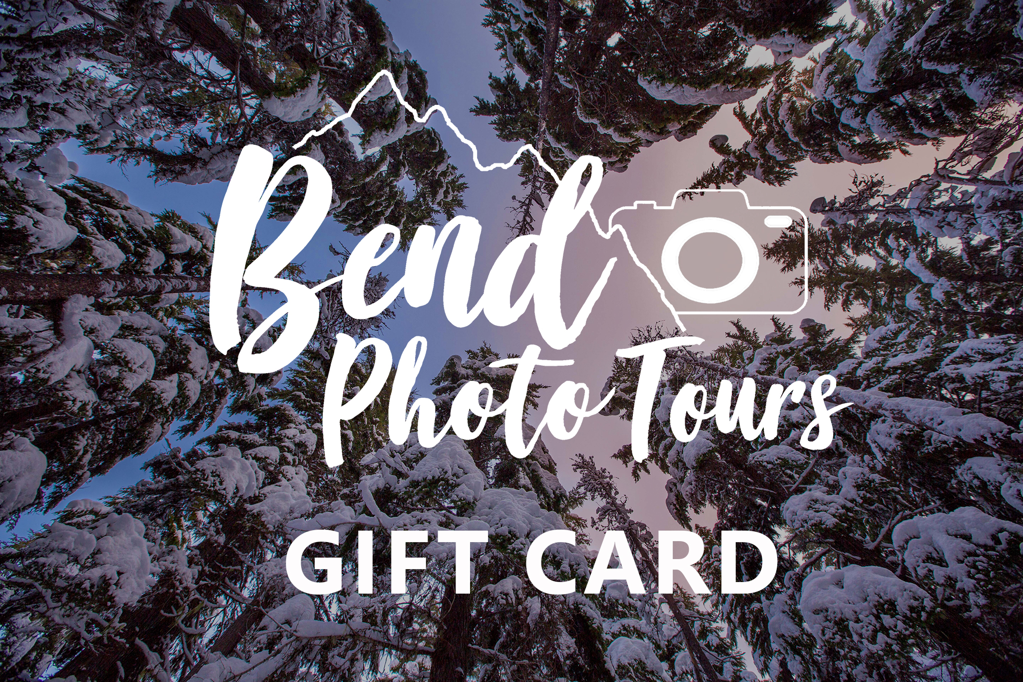 Gift Cards - Bend Photo Tours