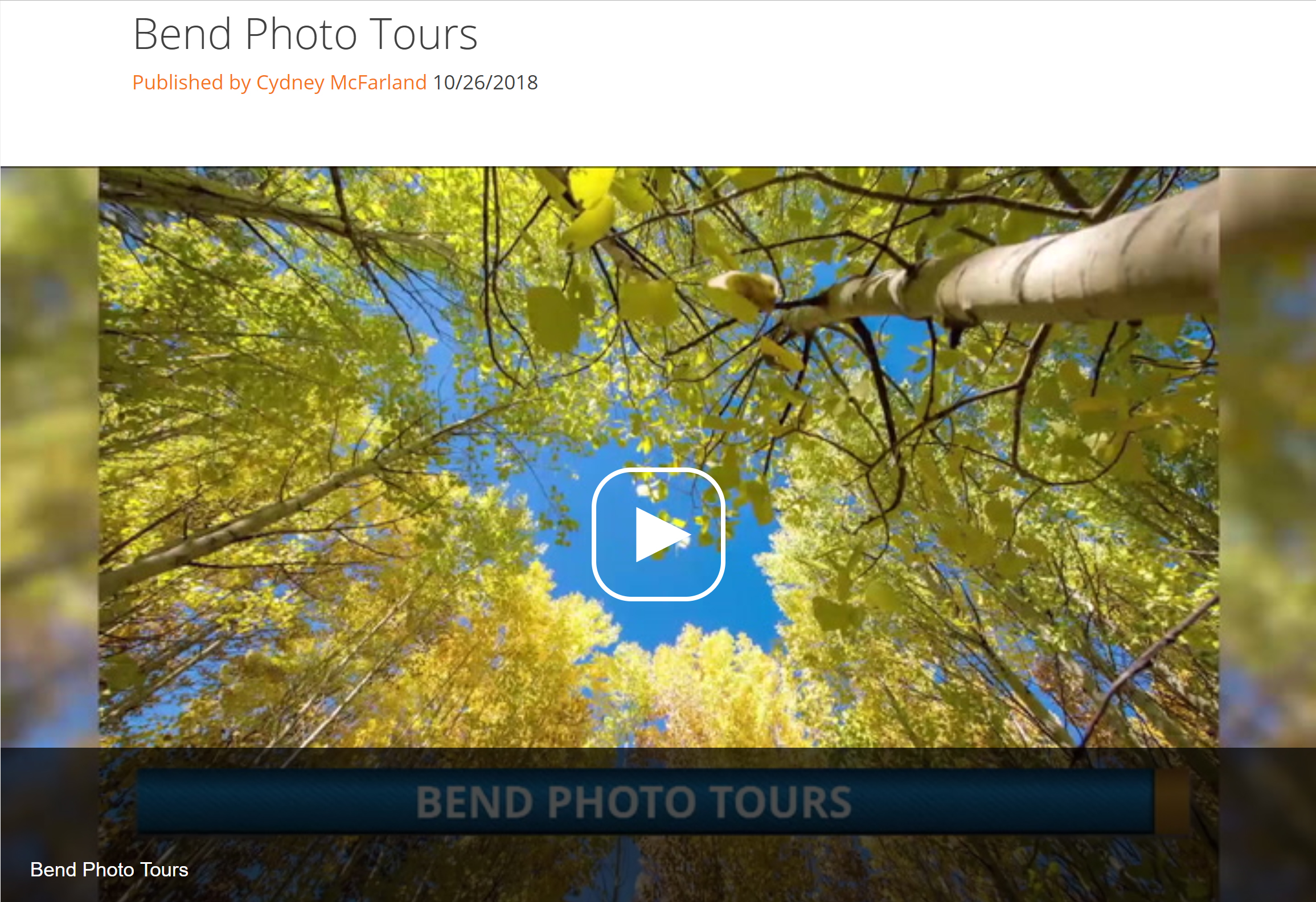 On Air Guest - Photographer Toni Toreno joins us to discuss how you can bring your vacation photos to the next level with one of her tours which teach your camera skills while you travel to beautiful location across Central Oregon.