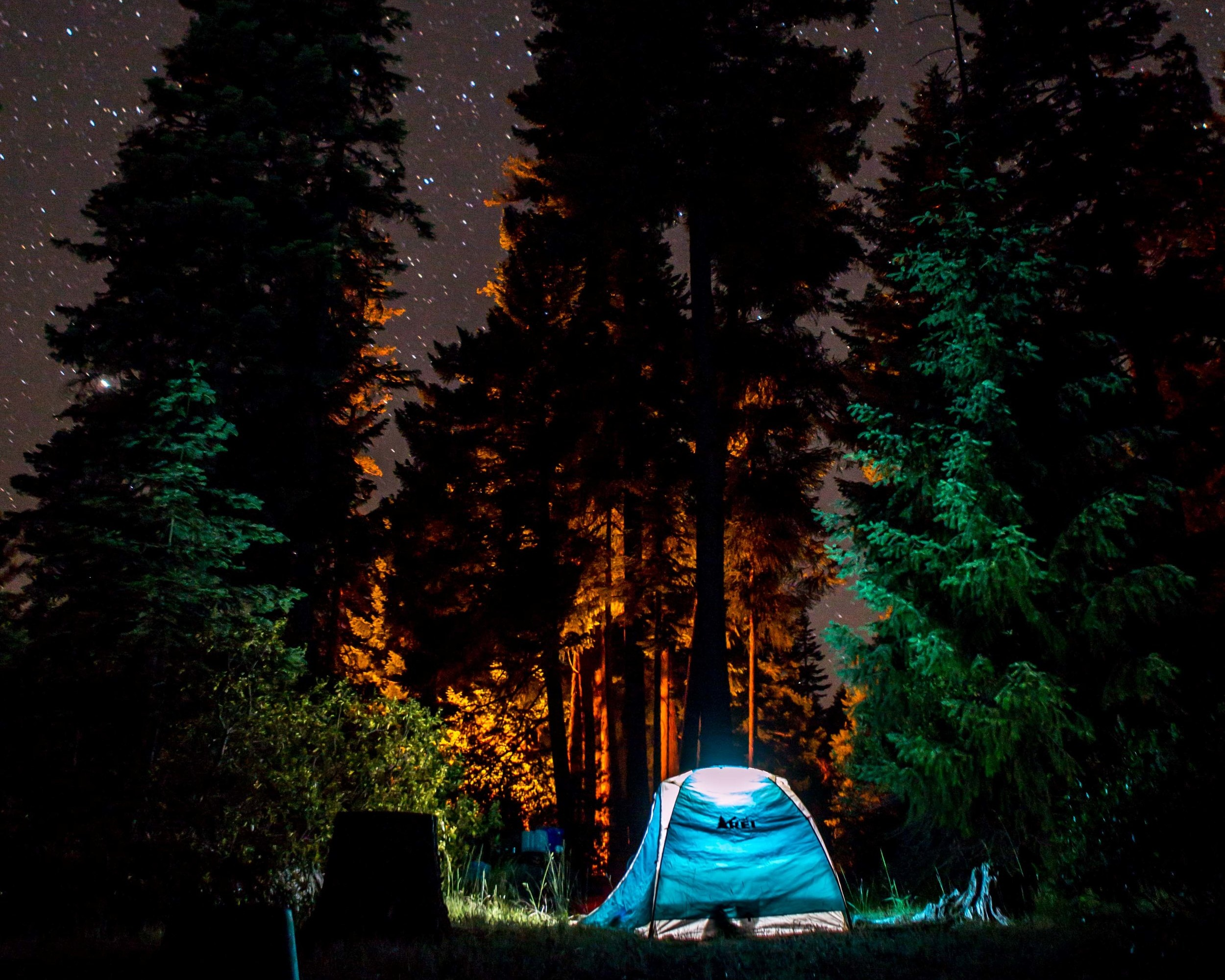 REI Camping Photo