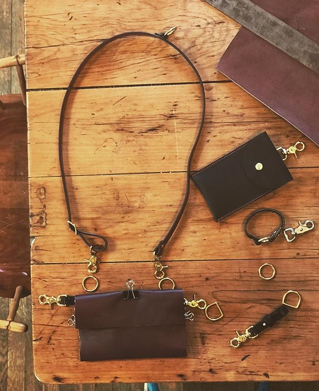 Working on some new pieces! • • • • #rivetleatherworks #madeintheusa #handmade #leathercrossbody #leather #leatherproducts #leatherproductsbusiness #leatherproductsforsale #handmadeleatherproducts #trendyleatherproducts #leathergoods #leatheraccessories #leathercraft #leatherwork