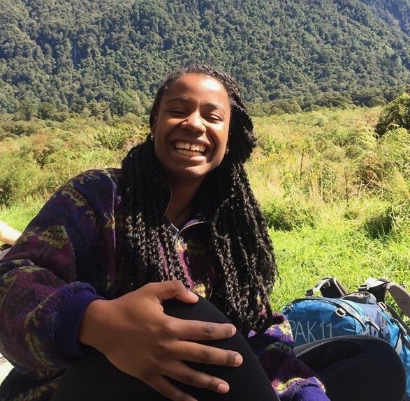 Gabrielle - Director of OperationsGabby is a recent grad from Middlebury College, where she studied Environmental Chemistry. She was born in Jamaica and raised in Philadelphia. Though at heart she will always be a city girl, her love and admiration for the outdoors runs deep. She can't wait 'till everyone is so Fly- rockin' the best hiking pants around.