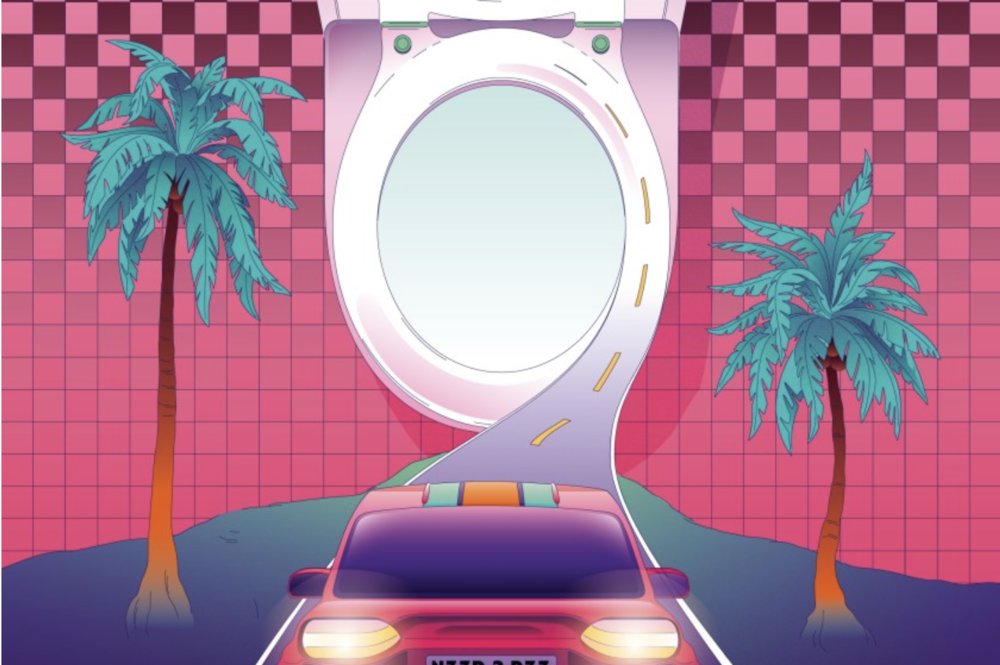 """Check out the  LA Times' """"Full bladders, closed bathrooms. Strategies for peeing while out during coronavirus""""  for more creative tips for going on the go if your SheFly's haven't arrived yet! Graphic by Ari Liloan."""