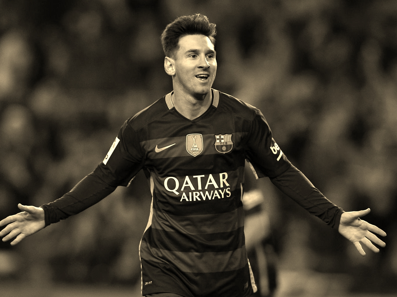 """Messi himself fondly recollects his time at the Rosario based club; """" as a little boy in Argentina, I played futsal on the streets and for my club…it really helped me become who I am today""""."""