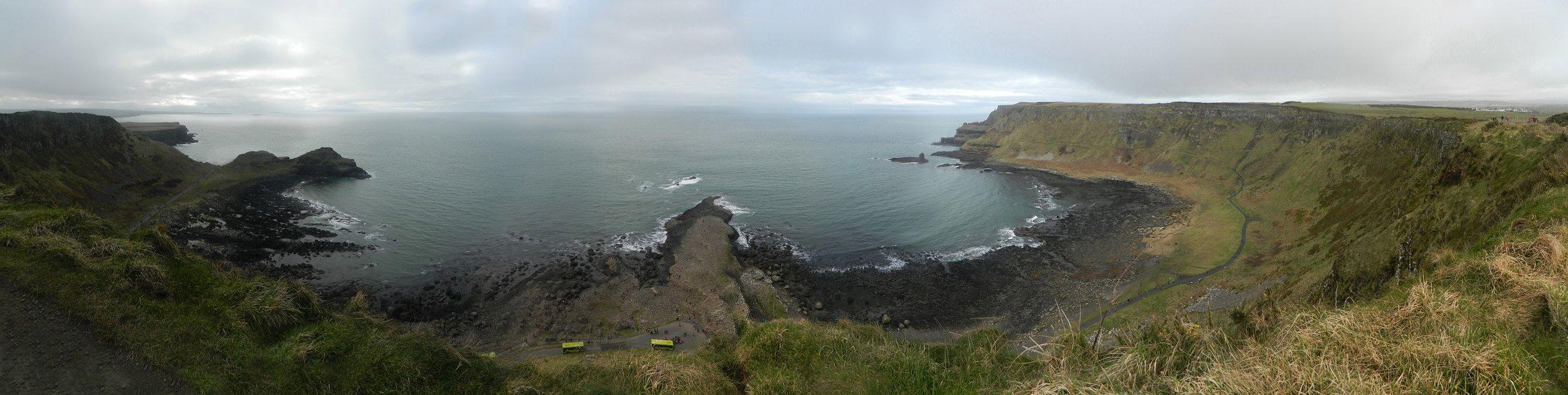 Giant's Causeway pano, North Ireland.JPG