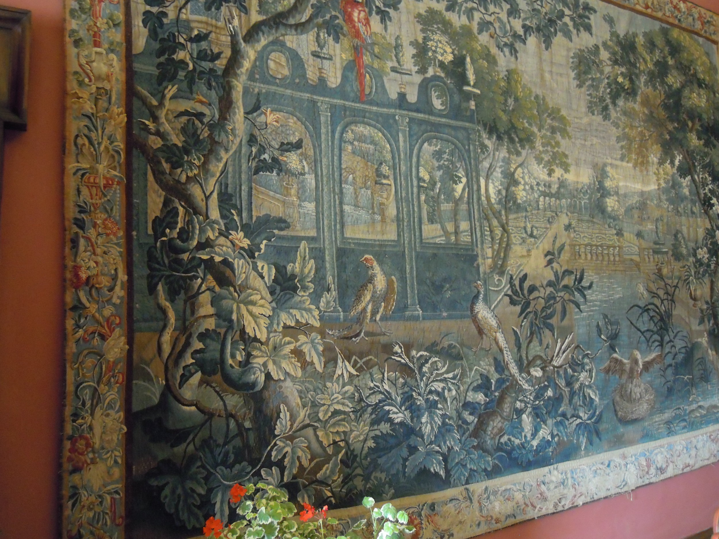 Tapestries and details