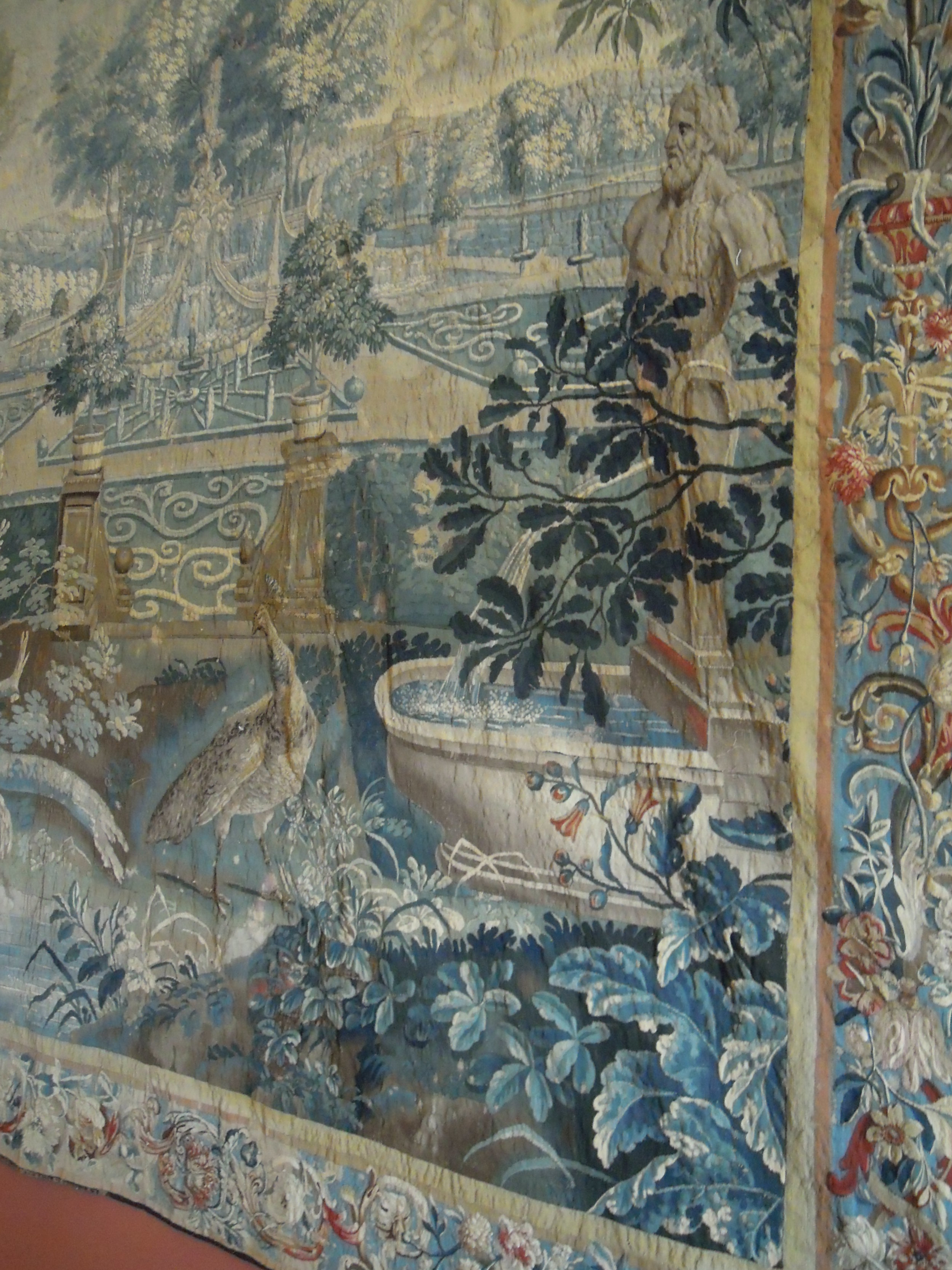 Tapestry in the dining room.JPG