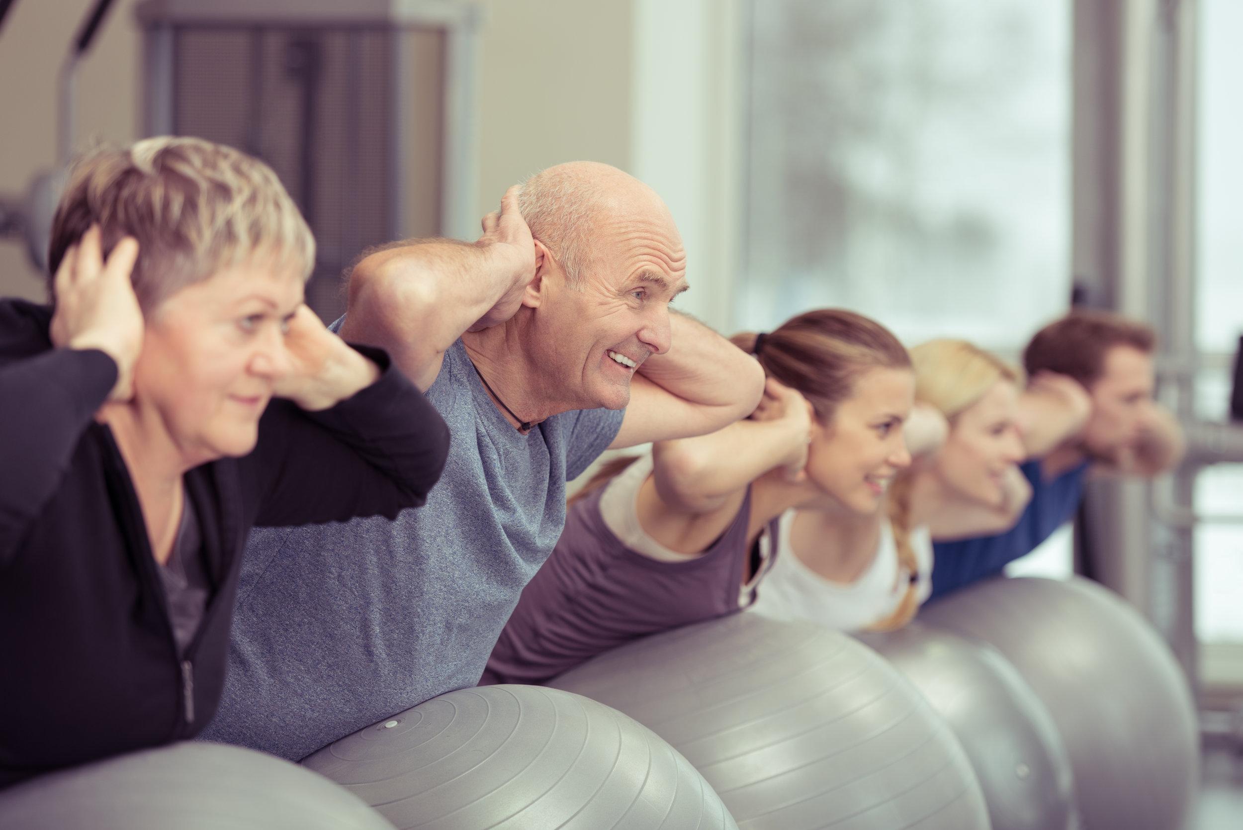 Benefícios do Pilates para a melhor idade. -