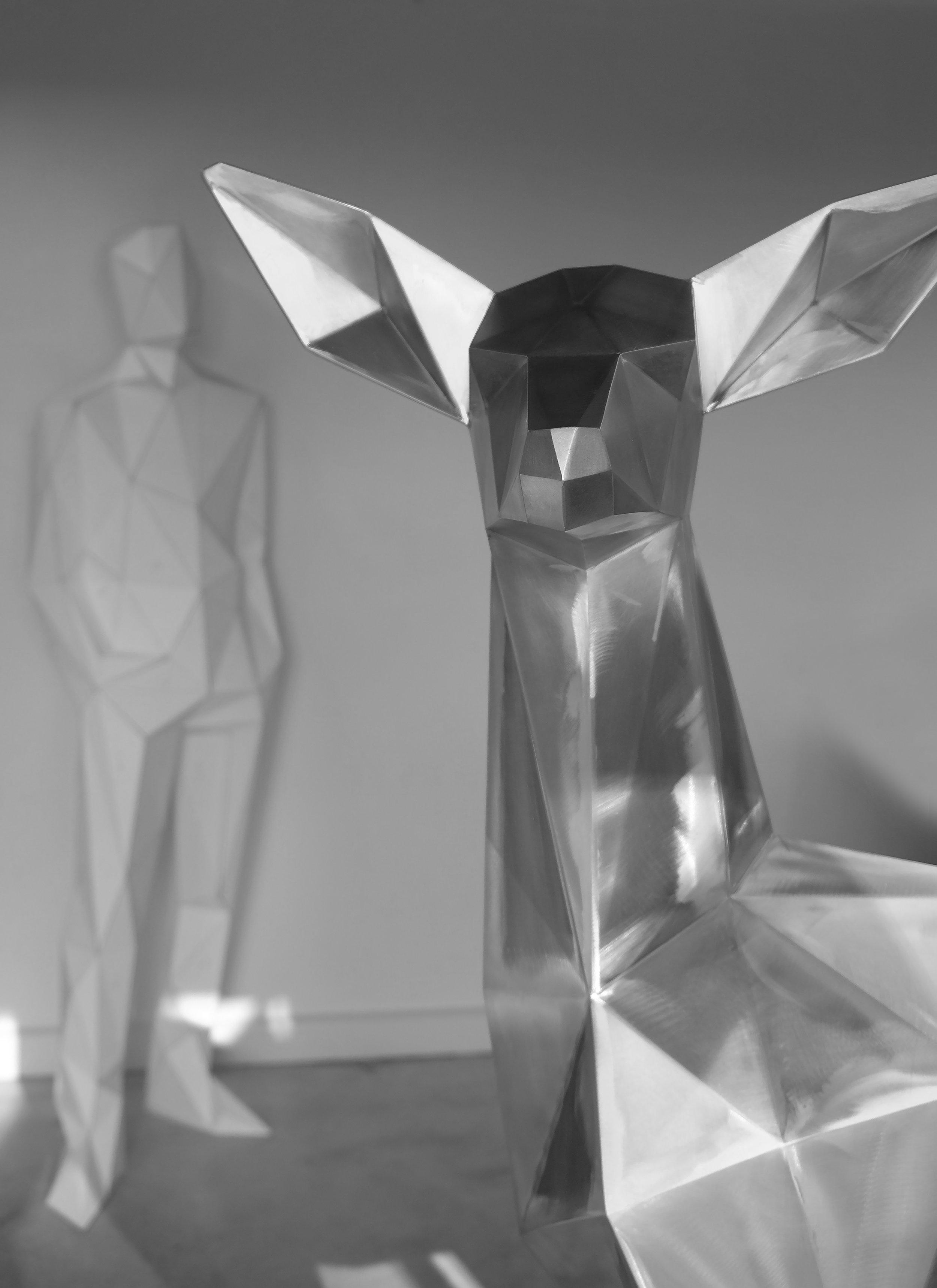 Studio process image for Spectrum 2016 Ben Foster