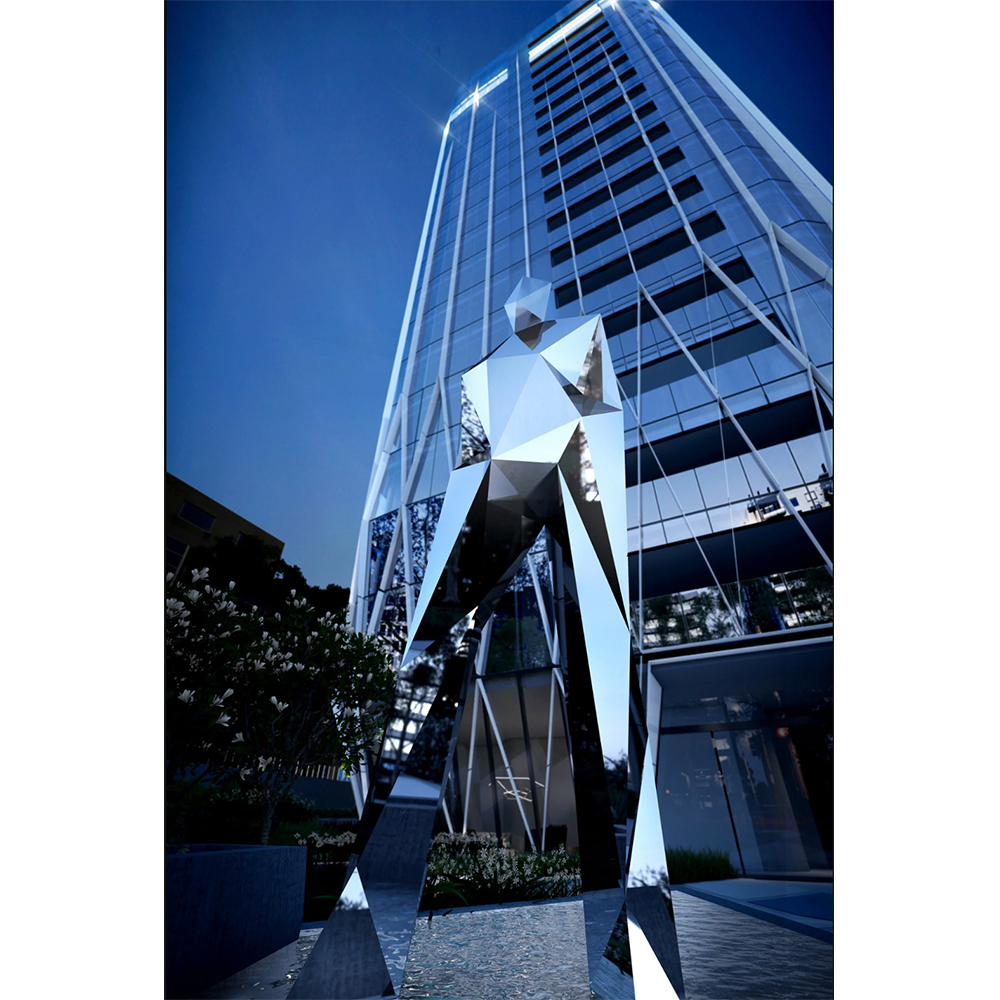 Ben Foster's latest commission titled 'Walk on Water' for Neue Grand, Melbourne