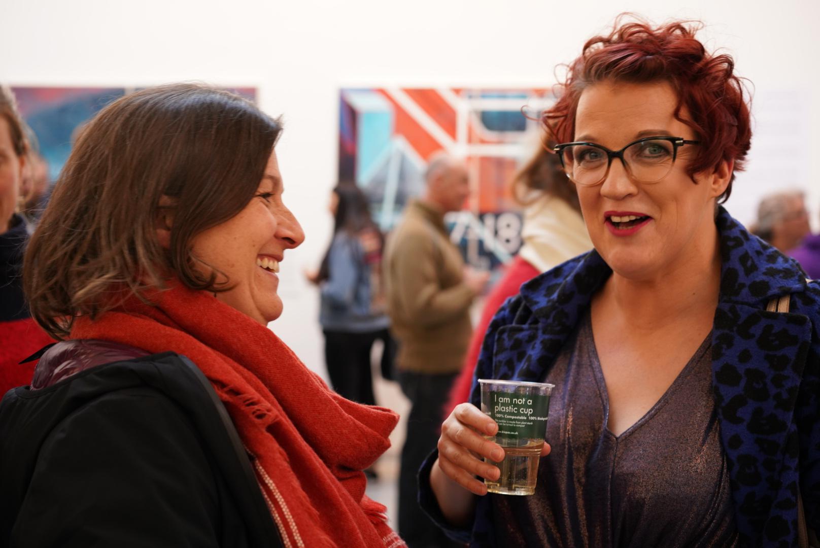 Netty and Alison Macdonald