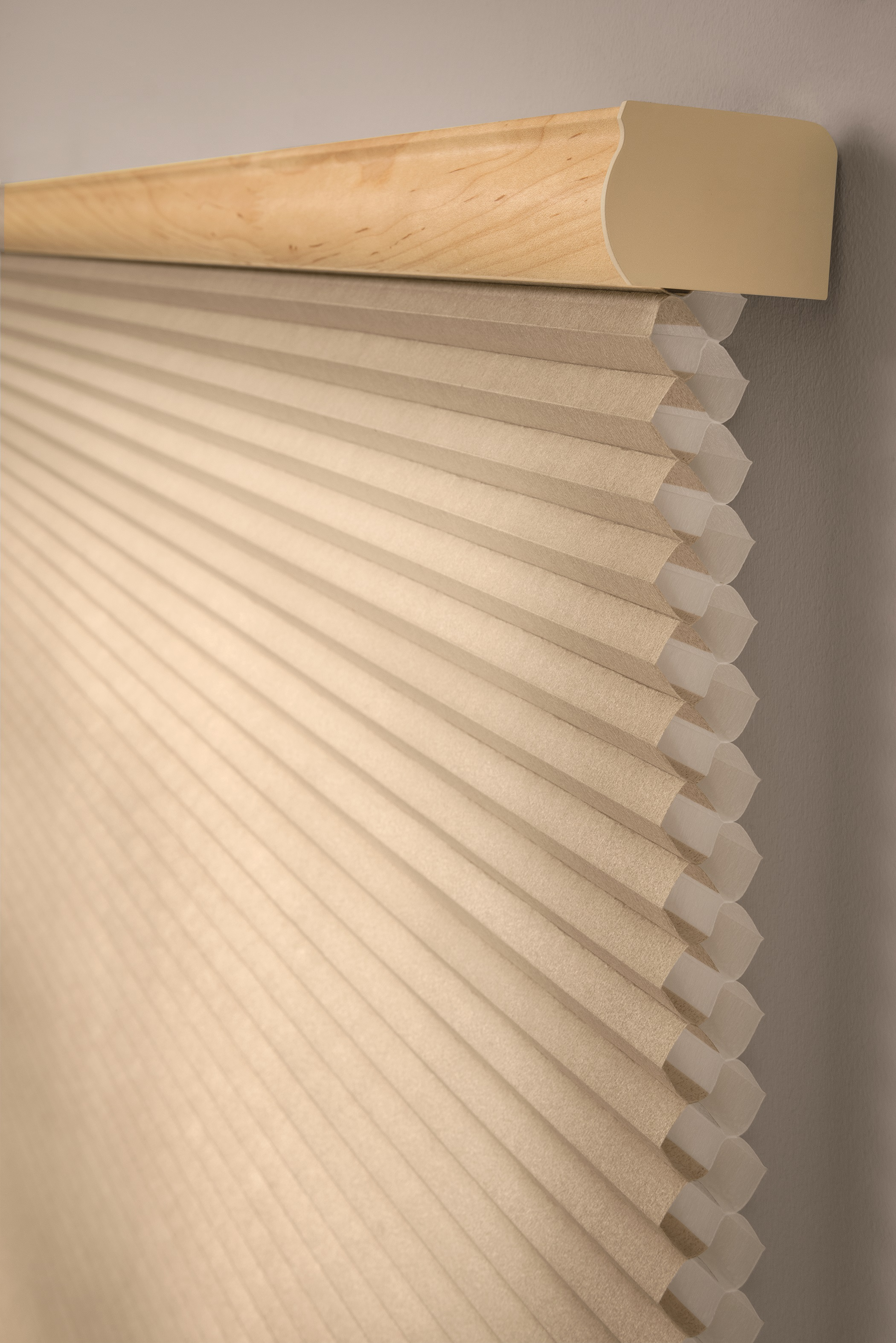 Cellular Shades meld exquisite fabrics with a honeycomb structure to regulate a home's temperature and conserve energy year-round. They're fully customizable, with three cell sizes and four opacity levels in a thoughtfully considered collection of fabrics.