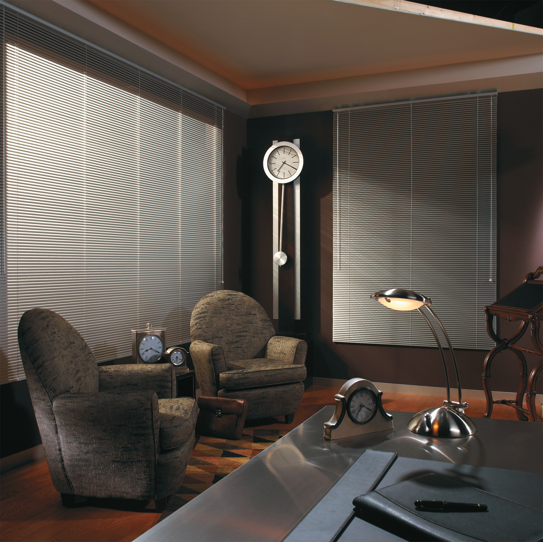 The most versatile of all window treatments, Horizontal Blinds provide excellent privacy and light control, as well as a wide selection of color and design choices.